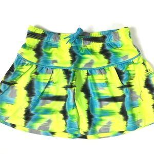 NWT PUMA Girls Athletic Skirt W/ Under-Shorts